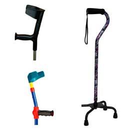 Categoría de muletas y bastones ortopédicos