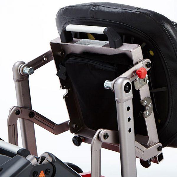 Scooter eléctrico plegable de cuatro ruedas Yoga de Teyder
