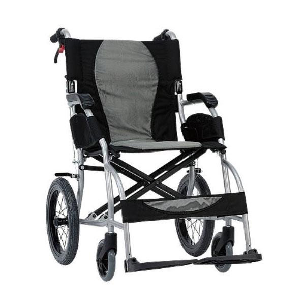 Silla de ruedas plegable compacta de aluminio Ergo Lite