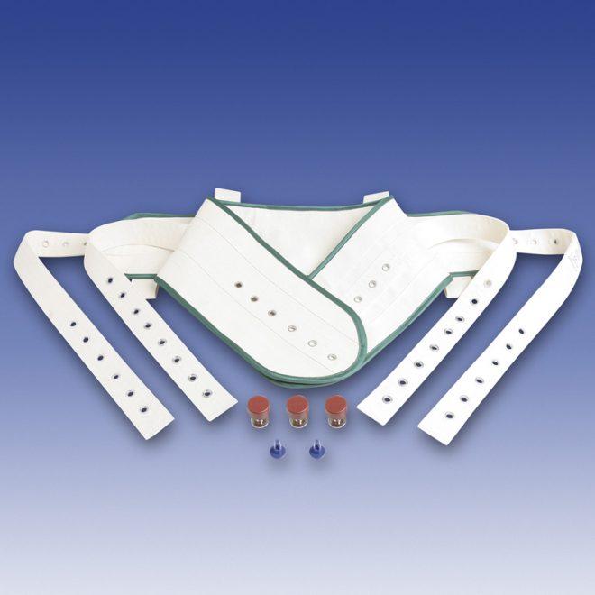 Cinturón abdominal para cama con imanes