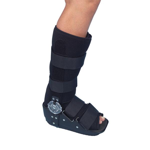 Walker inmovilizador de tobillo con articulación