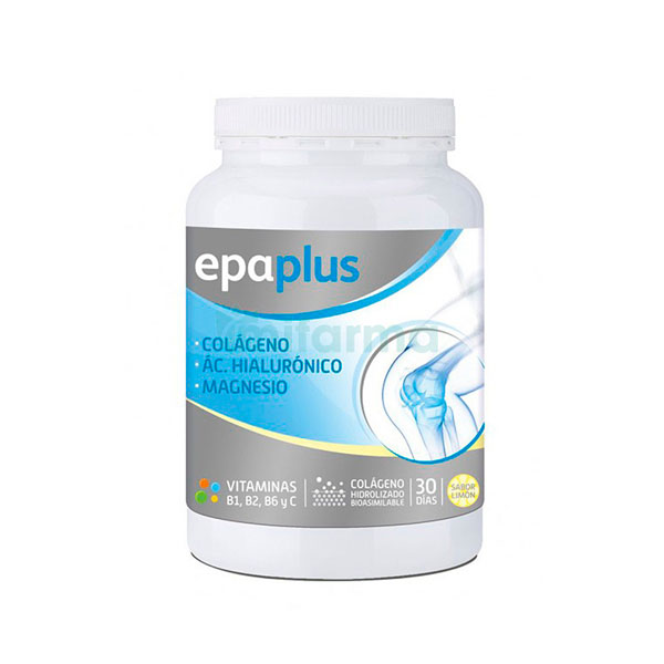 Epaplus Colágeno + Hialurónico + Magnesio Sabor Limón 332g
