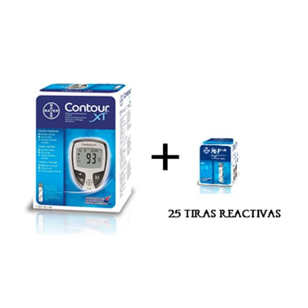 Glucómetro Pack + Tiras reactivas 25 unidades