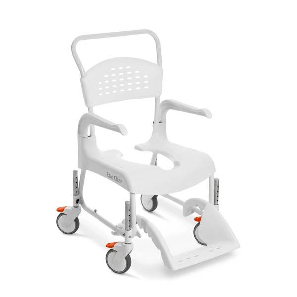 Silla de ducha y wc con ruedas clean silla para ducha - Silla de ducha ...