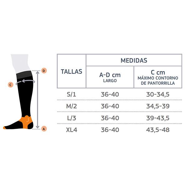 Calcetín técnico deportivo de compresión 2