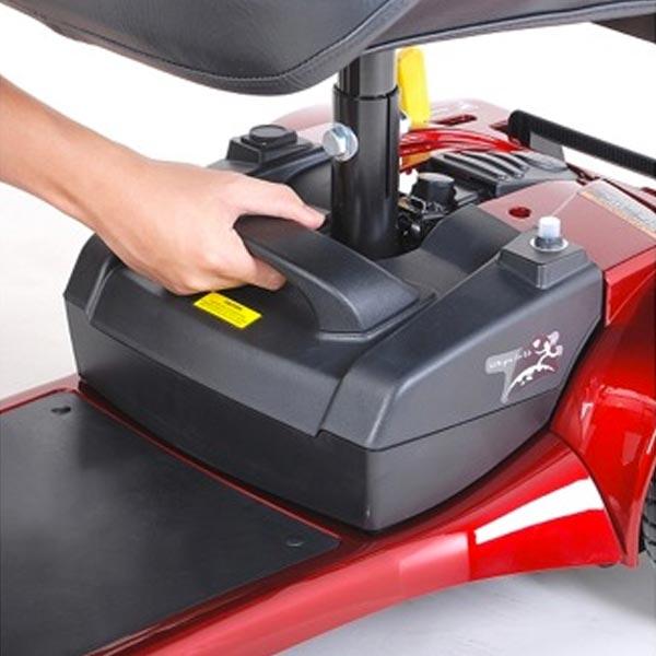 Scooter eléctrico desmontable LE MANS II de Teyder 2