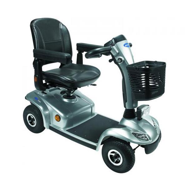 Scooter eléctrico 4 ruedas Invacare Leo Invacare compacto y desmontable