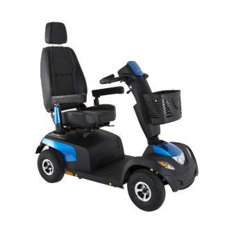 Scooter eléctrico Comet Alpine + Invacare Potente, robusto y seguro