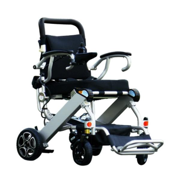 Silla de ruedas eléctrica plegable Mistral 7 y 10 Libercar Ultraligera y manejable