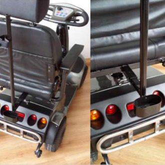 Porta muletas Scooter eléctrico Libercar – Accesorio
