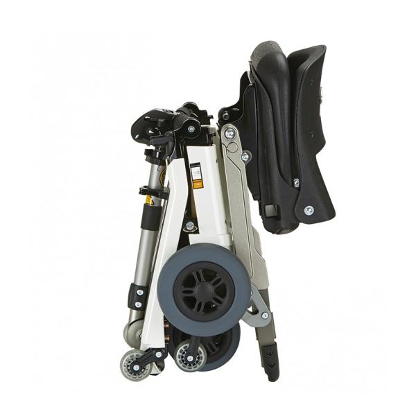 Scooter eléctrico 4 ruedas Luggie Ayudas Dinámicas Plegable de aluminio-2