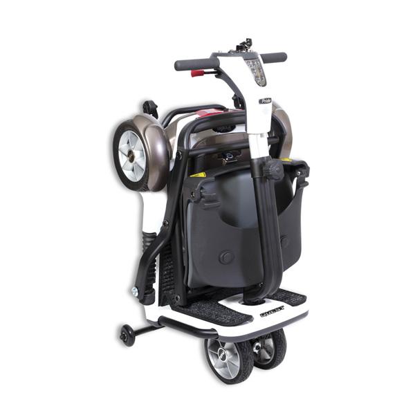 Scooter eléctrico 4 ruedas Quest Ayudas Dinámicas Plegable-2