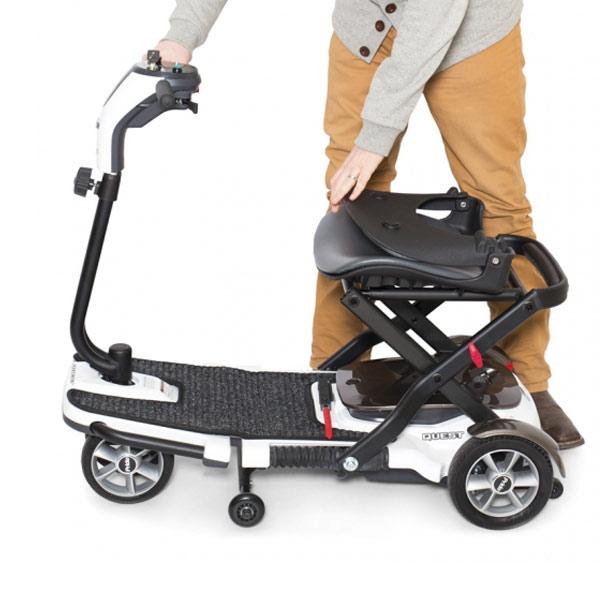 Scooter eléctrico 4 ruedas Quest Ayudas Dinámicas Plegable-3
