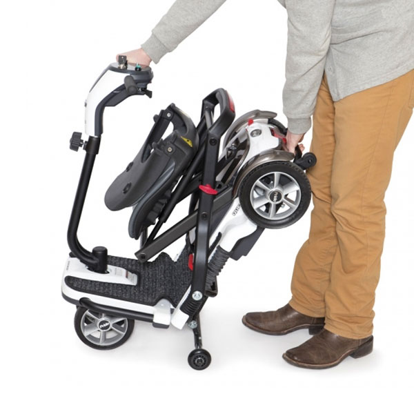 Scooter eléctrico 4 ruedas Quest Ayudas Dinámicas Plegable-4