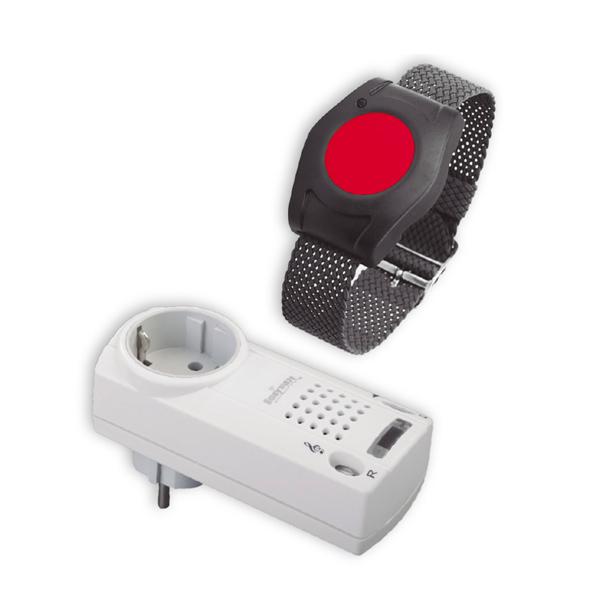 Sistema de alarma 'Elda pulsera' Ayudas Dinámicas