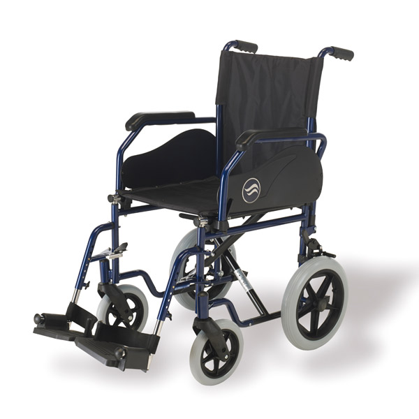 Silla de ruedas estándar plegable Breezy 90 de Sunrise Medical-2