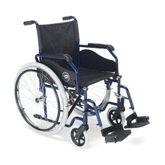 Silla de ruedas estándar plegable Breezy 90 de Sunrise Medical