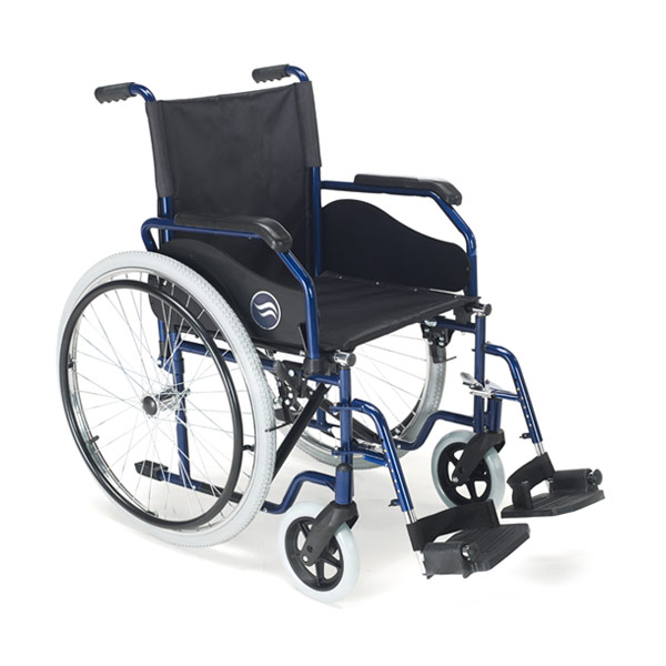 Silla de ruedas estándar plegable Breezy 90 de Sunrise Medical