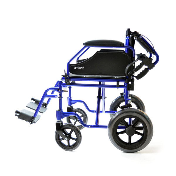 Silla de ruedas plegable ligera de aluminio Translite Uppy 1429SR de Teyder-3