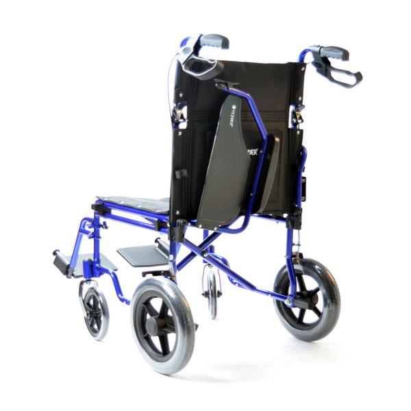 Silla de ruedas plegable ligera de aluminio Translite Uppy 1429SR de Teyder-4