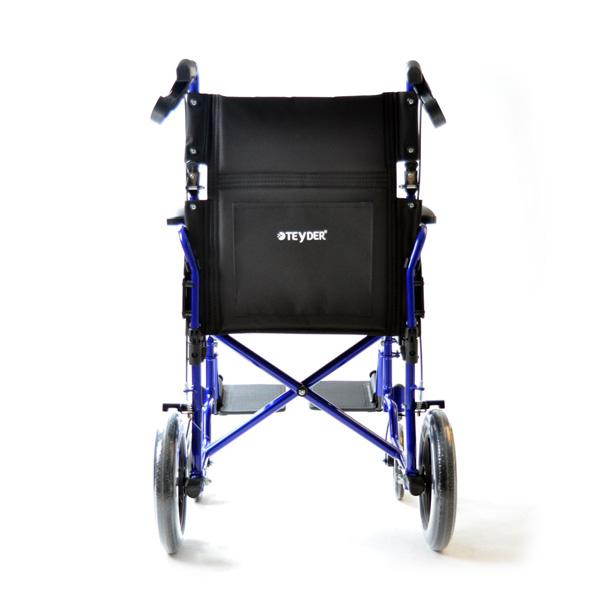 Silla de ruedas plegable ligera de aluminio Translite Uppy 1429SR de Teyder-6