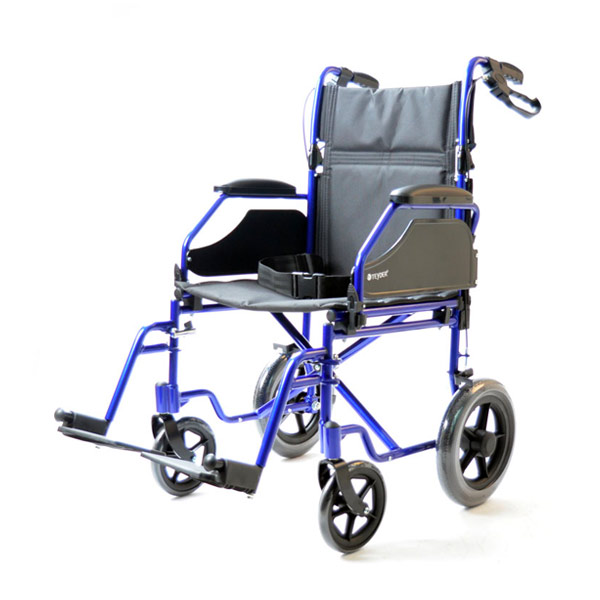 Silla de ruedas plegable ligera de aluminio Translite Uppy 1429SR de Teyder