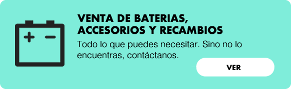 Baterias, accesorios y recambios