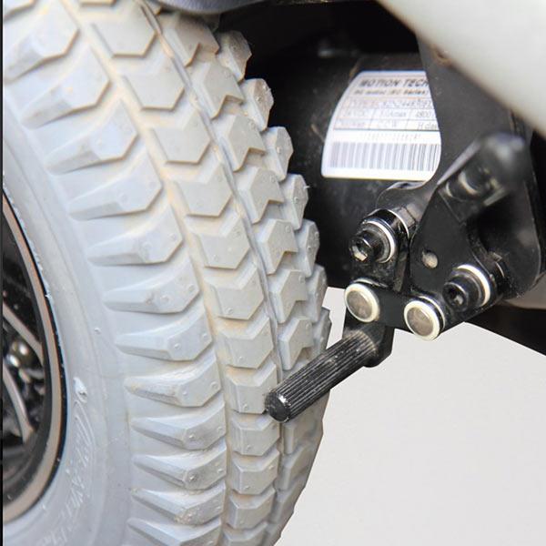 Silla de ruedas eléctrica compacta Blazer de Karma Mobility-7