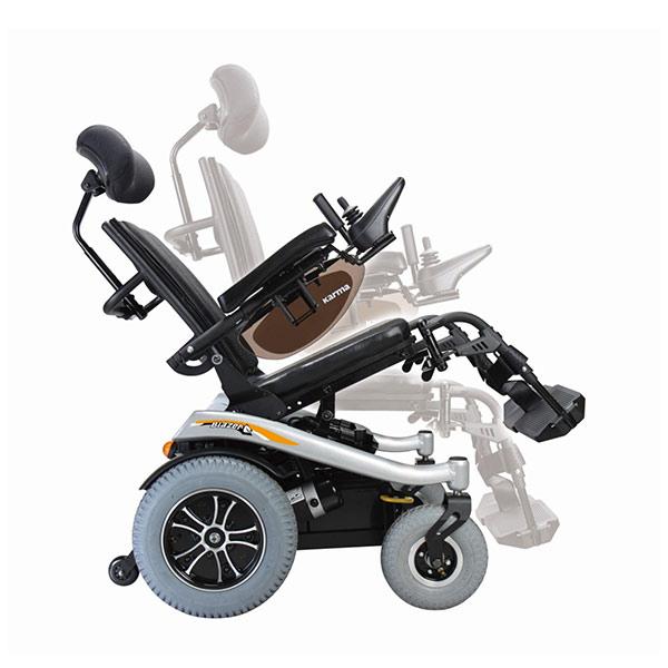 Silla de ruedas eléctrica compacta Blazer T de Karma Mobility-3