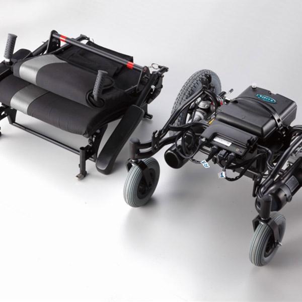 Silla de ruedas eléctrica desmontable Ergo Traveller de Karma Mobility-3
