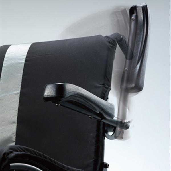 Silla de ruedas eléctrica desmontable Ergo Traveller de Karma Mobility-5