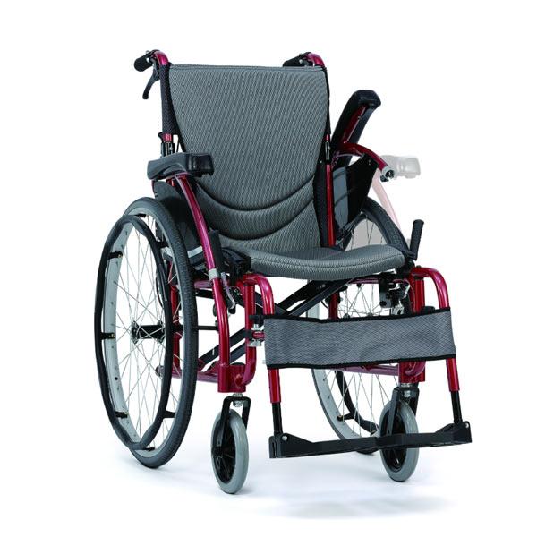 Silla de ruedas ligera y compacta S Eergo 125 de Karma Mobility-2