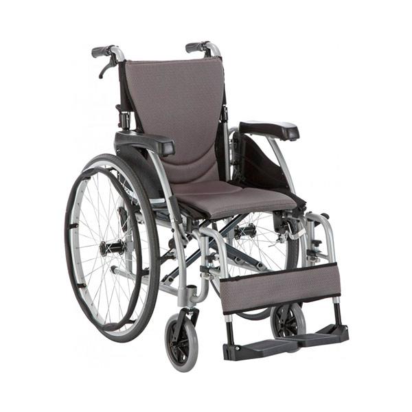 Silla de ruedas ligera y compacta S Eergo 125 de Karma Mobility