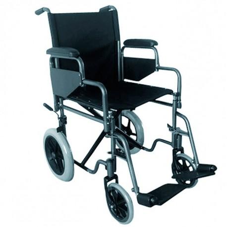 silla-de-ruedas-de-acero-plegable