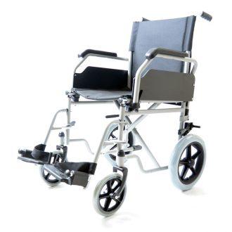 Silla de ruedas económica con rueda pequeña