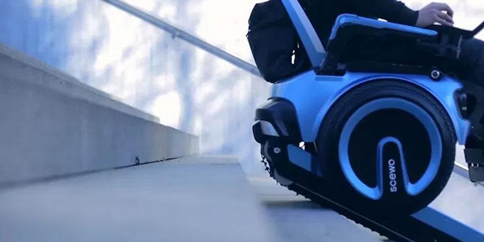 La silla de ruedas eléctrica del futuro