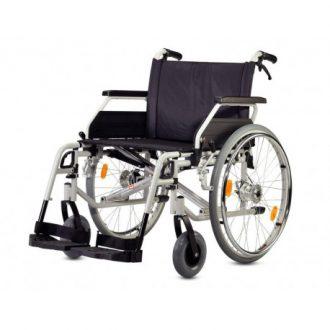 silla de ruedas plegable bariátrica autoprpulsable B+B modelo S-ECO 300 XL