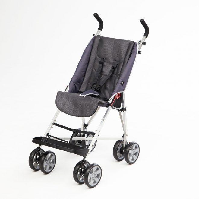 Silla de ruedas infantil paraguas