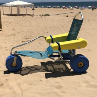 Silla de ruedas para playa anfibia Oceanic Atlantic