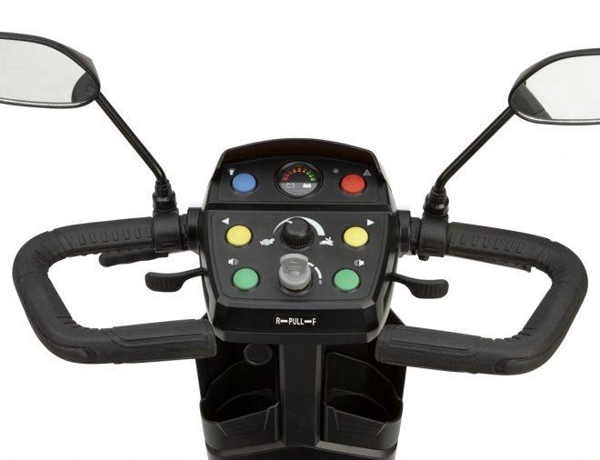 Scooter eléctrico B+B Centuro S2 detalle del cuadro de mando