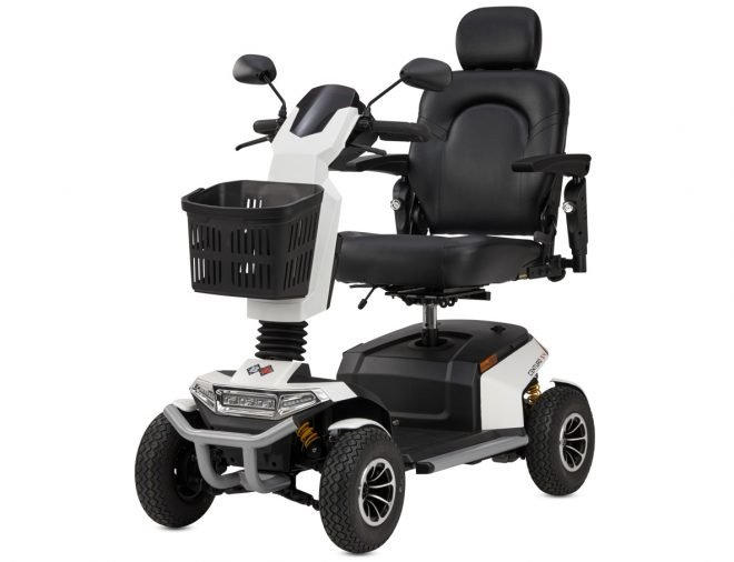 Scooter eléctrico B+B Centuro S4 color blanco