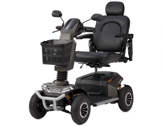 Scooter eléctrico B+B Centuro S4 color antracita