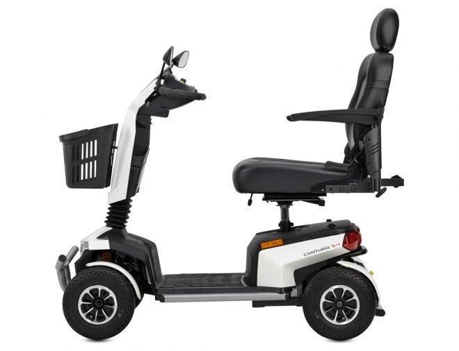 Vista lateral scooter eléctrico B+B Centuro S4