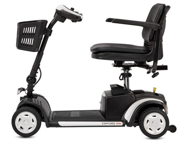 Scooter eléctrico B+B Centuro Mini vista lateral