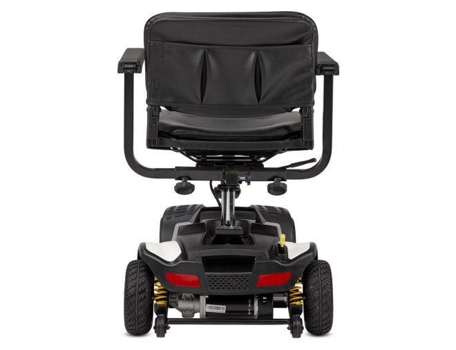 Scooter eléctrico B+B Centuro Mini vista trasera