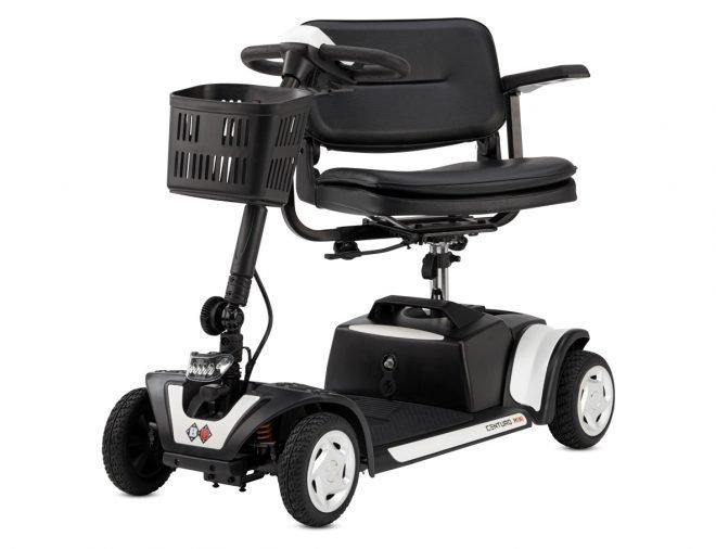 Scooter eléctrico B+B Centuro Mini B+B vista en diagonal