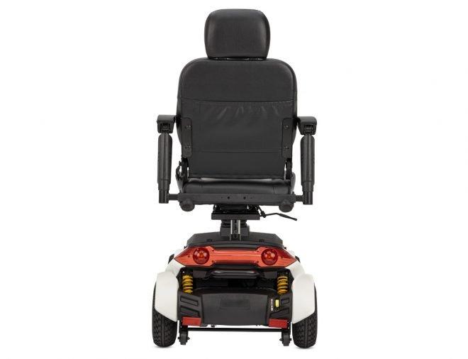 Scooter eléctrico B+B Centuro S2 vista trasera