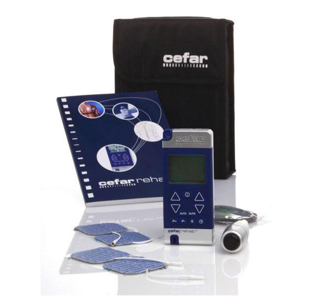 Electroestimulador Cefar Rehab X2 kit