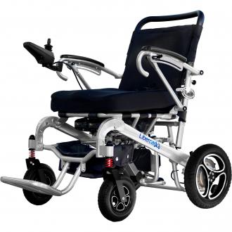 Silla de ruedas plegable con mando a distancia Libercar Aura