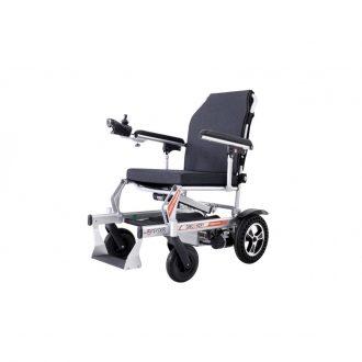 Silla de ruedas eléctrica plegable con mando a distancia y control remoto